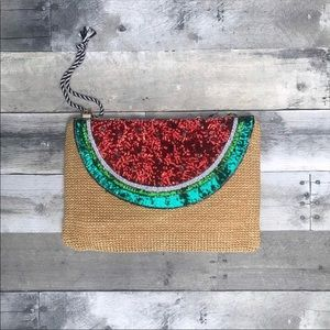 Handbags - Boutique | Watermelon Clutch (LAST ONE)